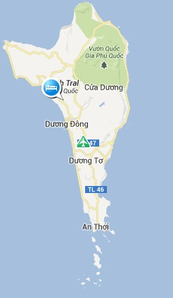Map of Phu Quoc, Discover Phu Quoc